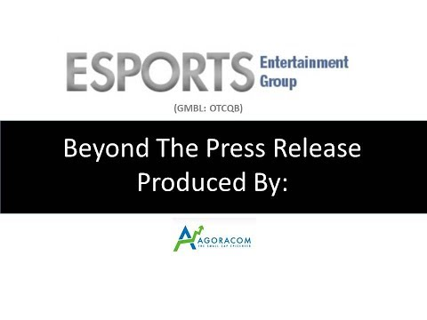 Esports Entertainment Discusses Launch Of VIE.GG