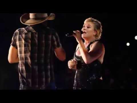 Jason Aldean, Kelly Clarkson - Don't You Wanna Stay (Night Train Tour)