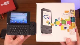 Unboxing the FIRST Android Phone!