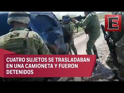 Graban enfrentamiento entre militares y supuestos criminales en Tamaulipas