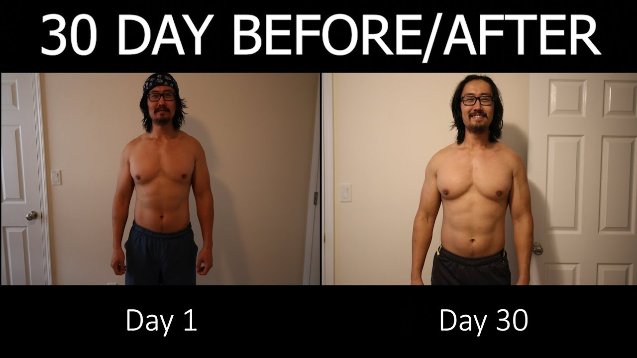 30 Day 100 Pushup 50 Pullup 2 Mile Run Challenge - Transformation and  Results