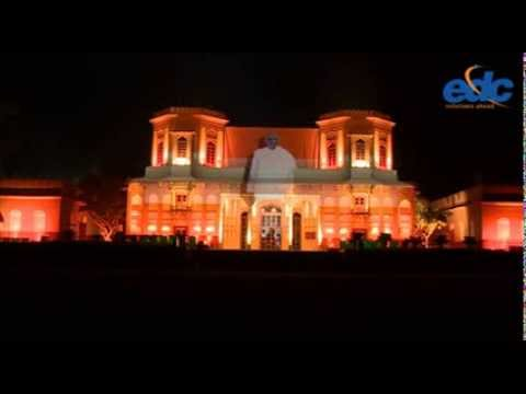 India's 1st 3D monument projection mapping with Sound & Light installation