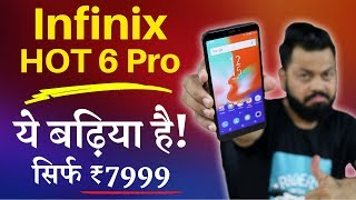 Infinix HOT 6 Pro - Unboxing & Quick Review in Hindi - Value For Money Budget Smartphone at ₹7999 🔥