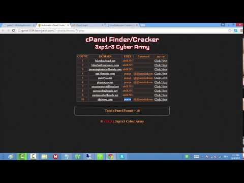 Cpanel cracker automatic tagged videos | Midnight News