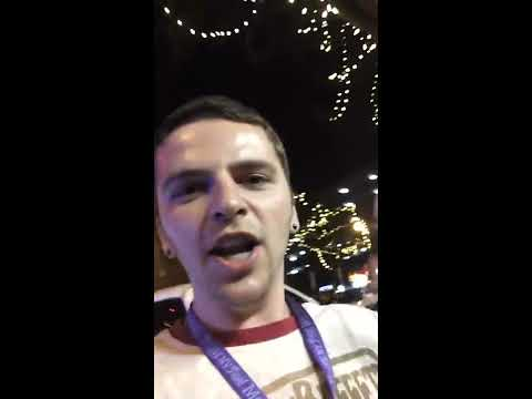 Downtown Nashville Tennessee Police Fight