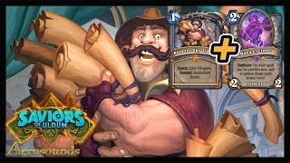 Quest Mage Is AWESOME! - Saviors Of Uldum Hearthstone