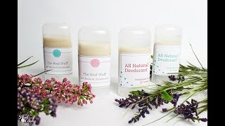 How to make Deodorant that Really Works - All Natural Recipe
