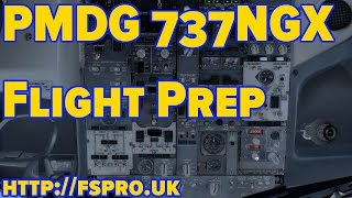 PMDG 737 Flight Preparation Tutorial