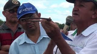 Pecuarista João Mauro Linhares fala do dia de Campo Betânia em Iguatu na fazendo Cruiri