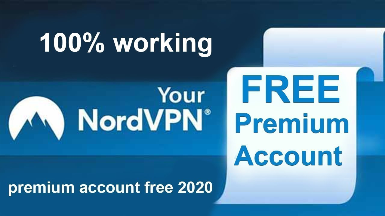 Nordvpn Premium Account List 2020 500 Free Premium Nordvpn Accounts 100 Work With Proof Youtube