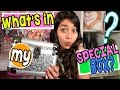 What's In My Special Box : MERCEDES WORLD // GEM Sisters