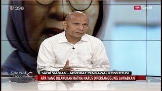Laporkan Prabowo dan Fadli Zon, Ini Penjelasan Saor Siagian - Spesial Report 04/10