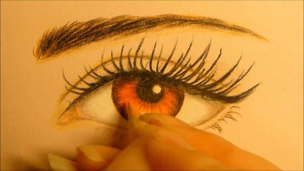 ™� Bella Swan Eye Drawing ™� How To Draw Eye ™� Kristen Stewart Eye Painting ™�  Twilight Eye Tutorial  Youtube
