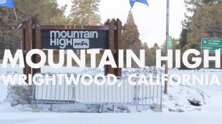The So-Gnar Mighty Midwest Snowboard Camp Tour - Stop 12 - Mountain High, CA