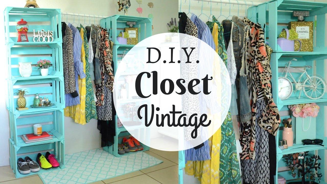 Elegant Vintage Closet Ideas Pictures Dream Home # Muebles Con Uacales