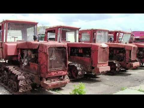 Гусеничные тракторы ДТ-75