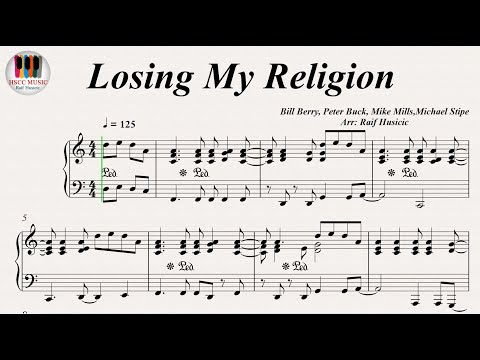 My Religion Rem Piano