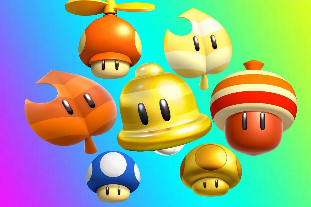 My Top 10 Power UPS Super Mario