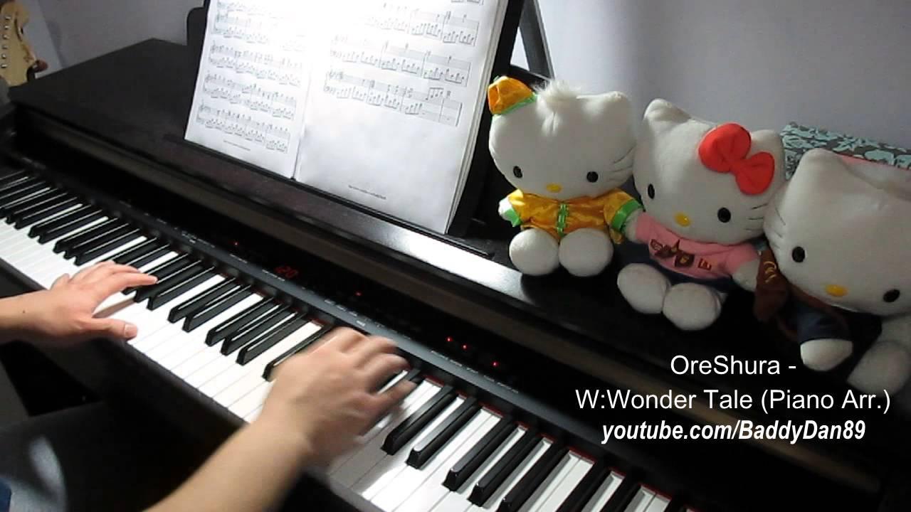 oreshura-wwonder-tale-piano-arr-piano-transcription-baddydan-piano-sheets