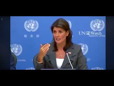 Nikki Haley - UNRWA a political entity in need of reform