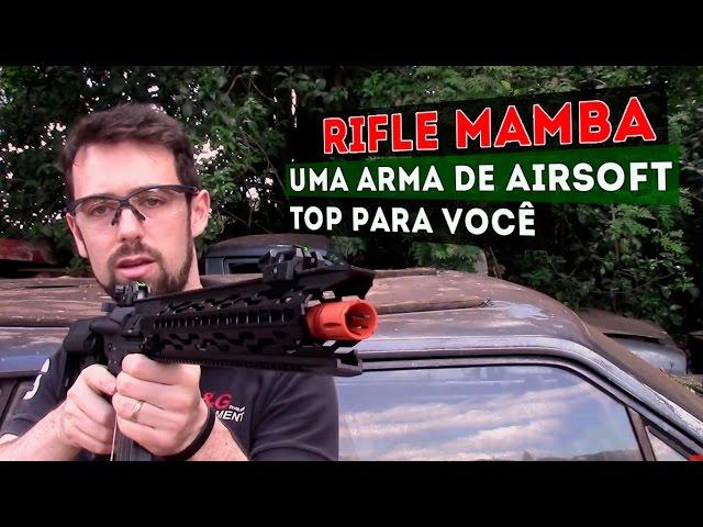 Conheça o Rifle MAMBA: Uma Arma de Airsoft Top Para Você Detonar nos Jogos #airsoftbrasil #src