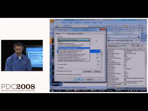 PDC 2008 The New COM API for Accessibility and Automation in Windows 7