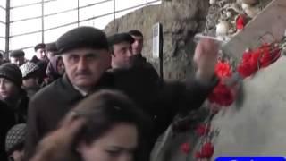 Quba Soyqırımı Memorial Kompleksini minlərlə insan ziyarət edib.31.03.2015