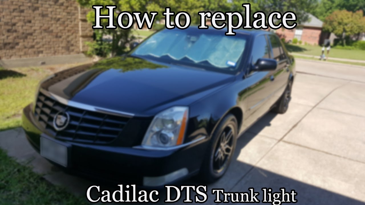 maxresdefault 2006 cadillac dts how to replace trunk light youtube  at soozxer.org