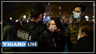 🔴 Des centaines de migrants violemment évacués de la place de la République à Paris