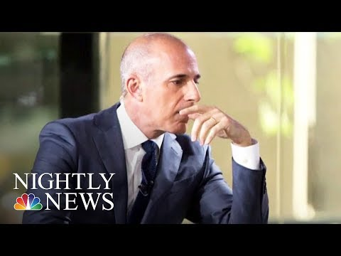 NBC News Fires Matt Lauer After Sexual Misconduct Review | NBC Nightly News