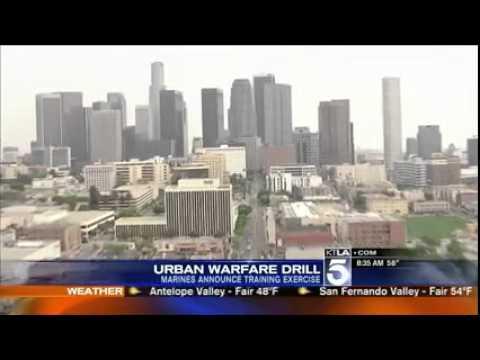 KTLA 5 - Urban warfare drill