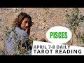 PISCES YOU ARE BLESSED A UNION IS COMING TOGETHER APRIL 7-8 DAILY TAROT READING