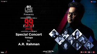 99 Songs | Digital Concert - Telugu | A. R. Rahman, Ehan Bhat | In Cinemas April 16th, 2021 - zola movie songs