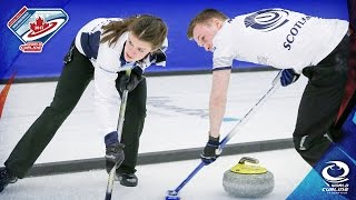 Scotland v Canada - Last 16 - World Mixed Doubles Curling Championship 2017 thumbnail