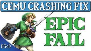 Cemu 1.11.0   Update 1.3.3 Crash Fix   Zelda BOTW