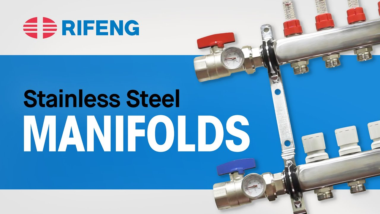Rifeng Stainless Steel Manifolds Youtube