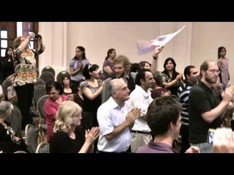 Jews & Arabs worship together in Nazareth, Israel.