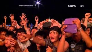 Kemeriahan konser band Avenged Sevenfold di Jakarta