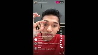 Jangan Lihat!! Adegan JOJO Berciuman Live Instagram
