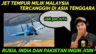 SPEKTAKULER !! JET TEMPUR UNTUK MALAYSIA, SALAH SATU YANG TERCANGGIH DI ASIA TENGGARA