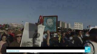 كوبا تحتفل بذكرى ثورتها لأول مرة بغياب فيدل كاسترو.. فيديو