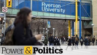 Ontario students protest changes to tuition | Power & Politics