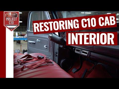 Project C10 Truck Restoration - Episode 19: Cab Interior -Classic Auto Insurance