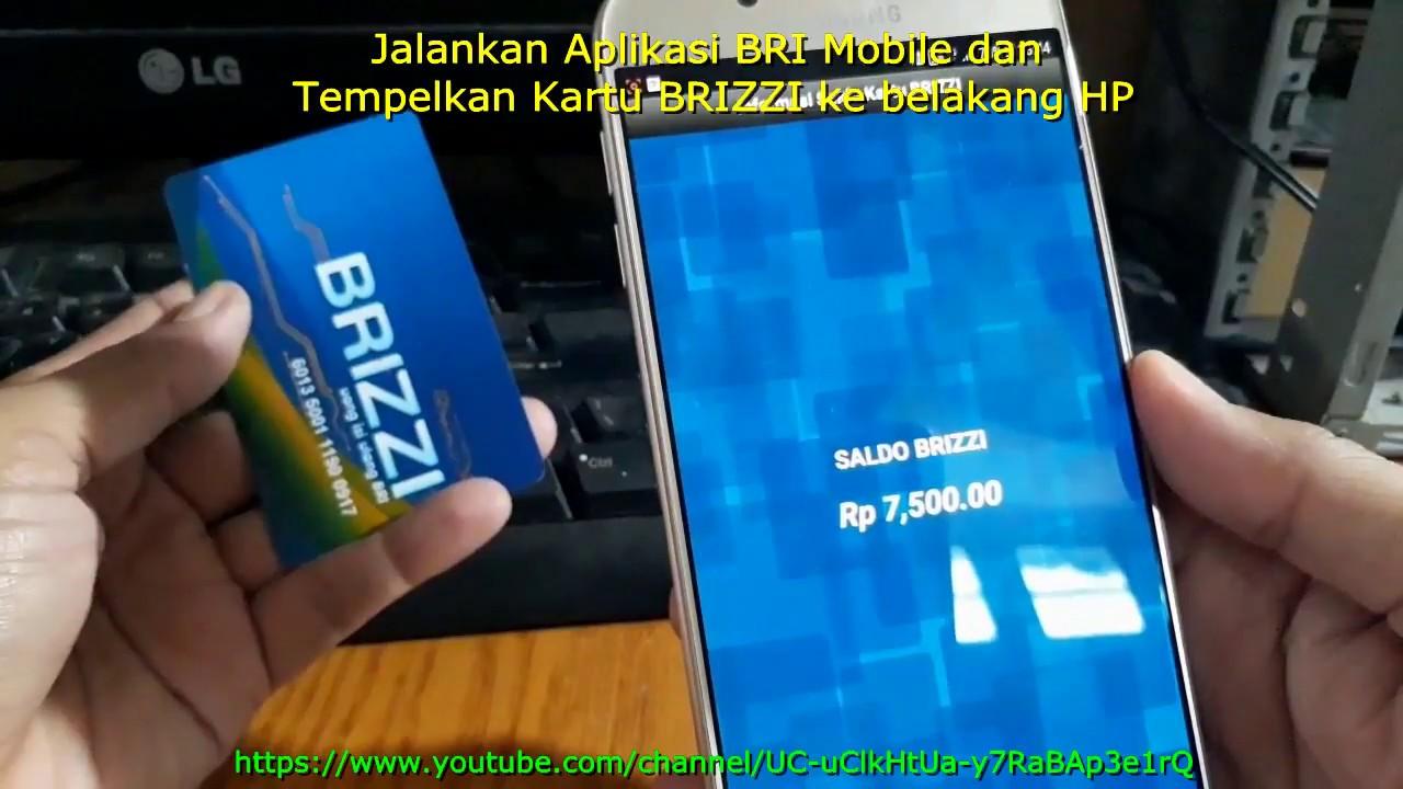 Cara Mengetahui Saldo Kartu e-Toll BRIZZI dari HP Android