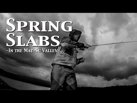 Fly Fishing Spring Slabs