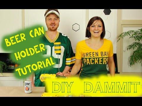 HOW TO MAKE A DIY TIN CAN BEER HOLDER W/ GARETH REYNOLDS -- DIY, DAMMIT!