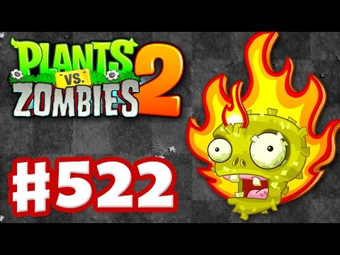 Plants vs. Zombies 2 - Gameplay Walkthrough Part 522 - Fire Pinatas! (iOS)