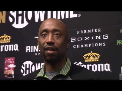"STEPHEN EDWARDS: ""J ROCK"" IS HUNGRY & WANTS THIS MORE THAN ANYBODY IN BOXING"