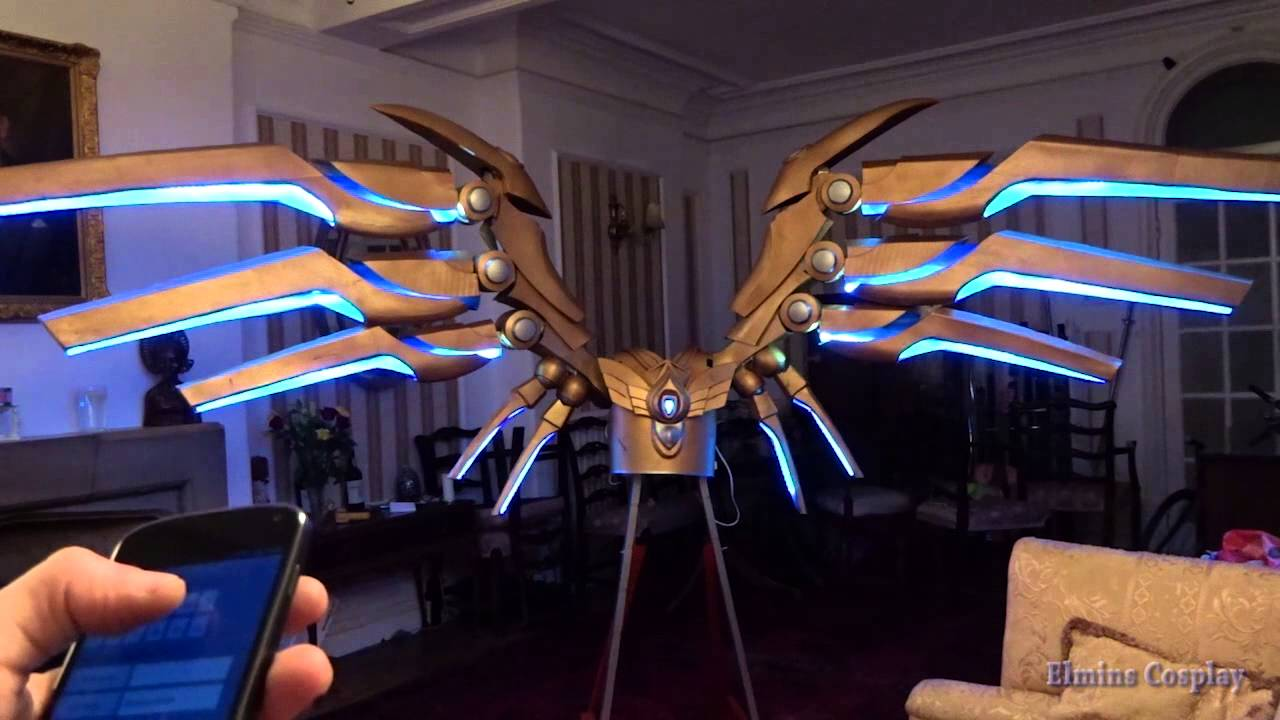 My Giant Motorized Aether Wing Kayle Cosplay