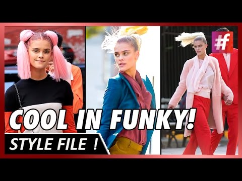 Nina Agdal Enjoys To Be In A Funky Fashion Shoot!